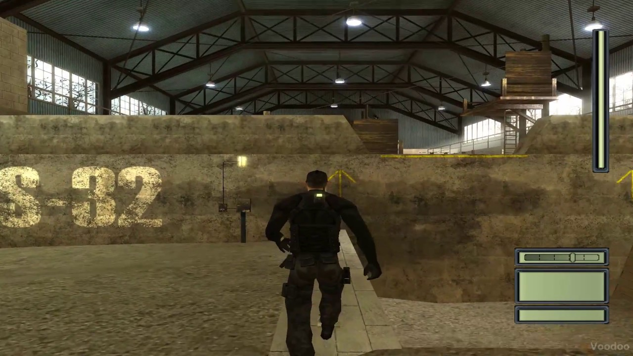 "Download Splinter Cell PART-1 ""Cia Training Camp, Virginia"" (dgVoodoo2, PC)"