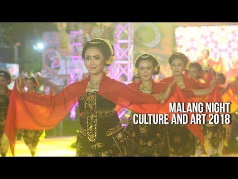 Kolosal Libatkan Ribuan Seniman, Malang Night Culture and Art Jadi yang Terbesar di Indonesia