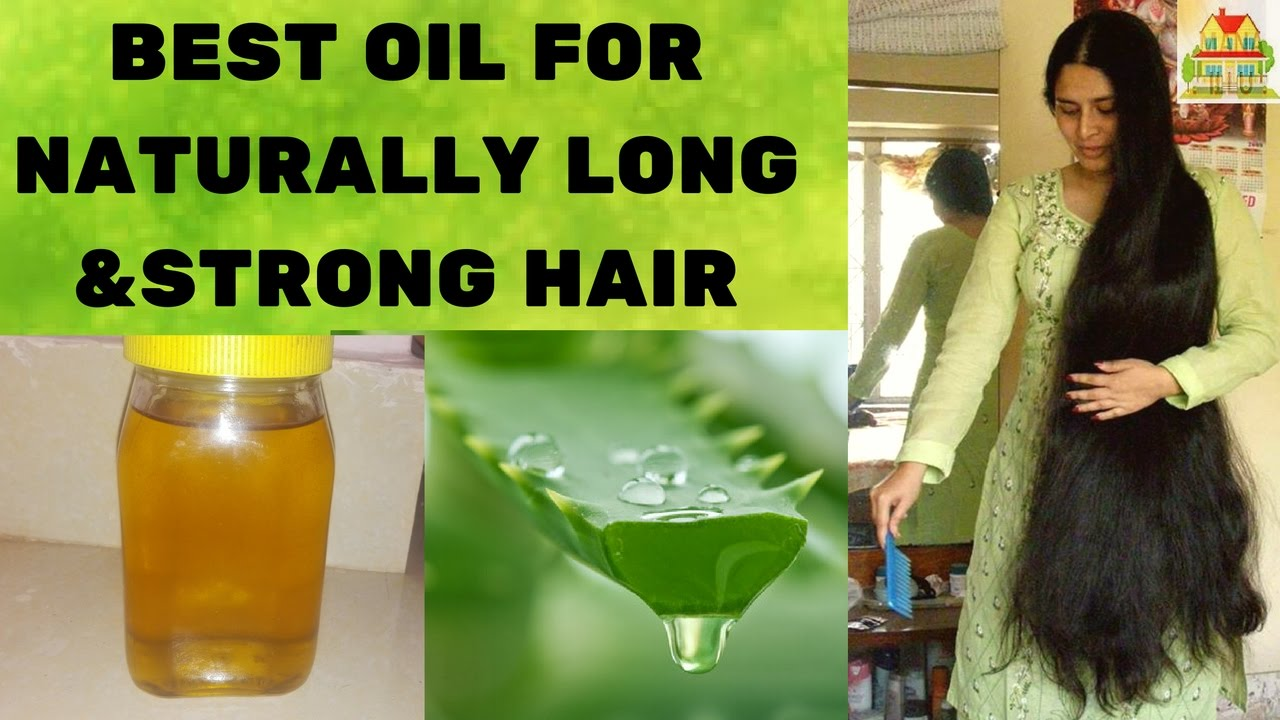 Aloe Vera Oil For Strong Hair In Telugu With Subtitles Natural Home Remedies Mana Illu