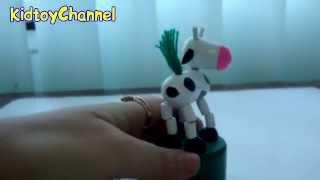 Видео обзоры игрушек  - Деревянная игрушка Дергунчик