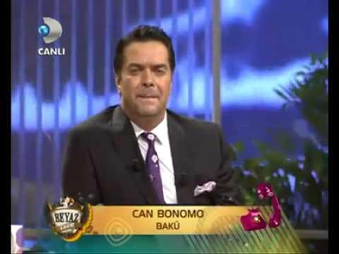 Can Bonomo Bakü 'den Bağlanıyor Beyaz Show 25 Mayıs 2012
