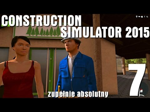 Construction Simulator 2015 #7 - Hotel i świerkowy problem