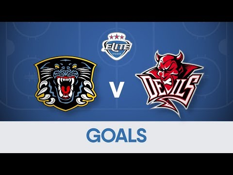 Goals: Nottingham Panthers 3-5 Cardiff Devils
