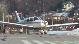 Piper PA-28-151 Landing