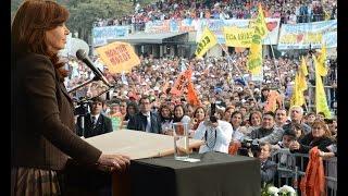 9 de Julio. Día de la Independencia en Tucumán. Cristina Kirchner.