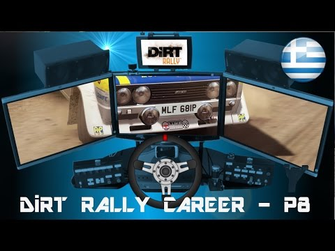 DiRT Rally Career - Part 8 (Fiat 131 Abarth at Greece)