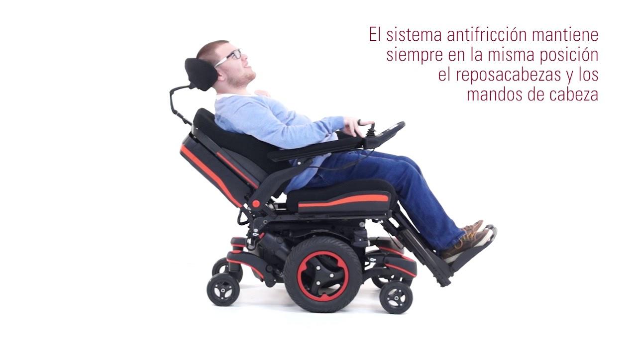 Respaldo Ergo Sedeo Silla Ruedas De Q700 Antifricción Eléctrica M bg6YymIvf7