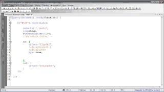 Простая анимация текста, используя textillate.js