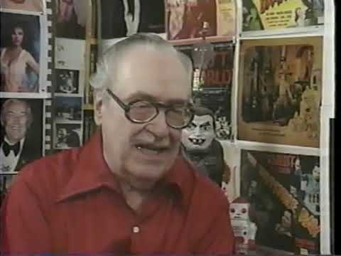 An interview with Forrest J. Ackerman from Postmortem's Dead Beat Video Magazine circa 1990