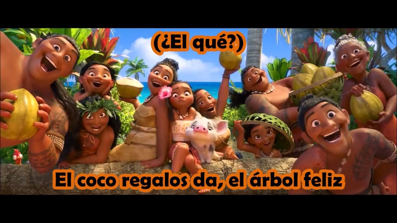 Download Moana / Vaiana - Where You Are (Latin Spanish) *Lyrics* HD