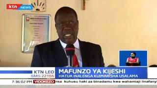 Machifu wa Kenya watapewa mafunzo wa Kijeshi