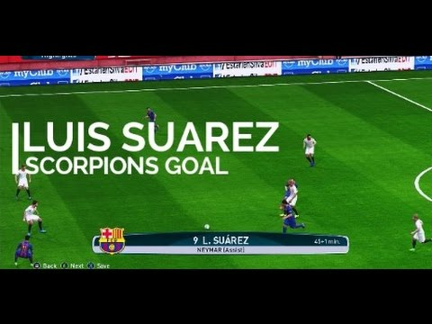 #Trending SCORPION GOAL Luiz Suarez , in Final SUPERCOPA ESPANA , (BARCELONA 3 VS 1 SEVILLA)