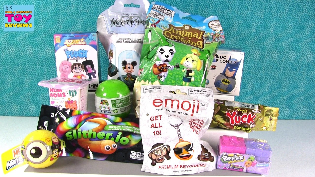 Disney Slither Io Shopkins Minions Mineez Animal Crossing