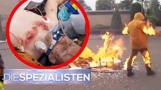 Der Mann in Flammen! Wer hat ihn angezündet? | Oliver Dreier | Die Spezialisten | SAT.1 TV