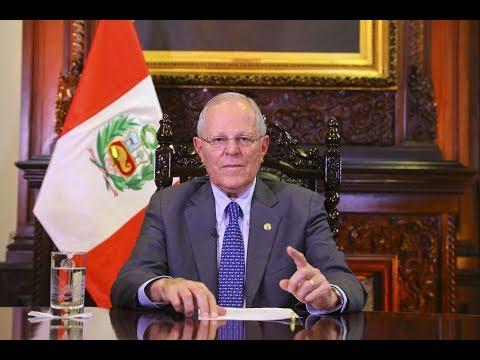 Mensaje Presidencial Pedro Pablo Kuczynski - Huelga Magisterial [16 Agosto 2017]