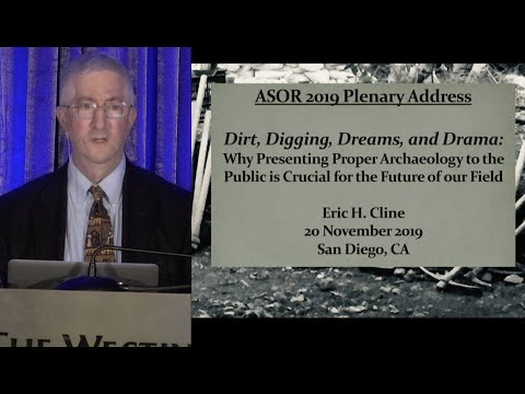 2019 ASOR Annual Meeting Plenary Address: Eric Cline