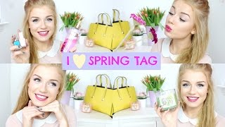 I ❤ Spring TAG | Lucy Flight