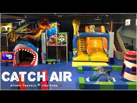 WONDERFUL CUTE Kids Playhouse | Fun Indoor Playground | Catch Air | Slide Climb Glide | Ball Pit