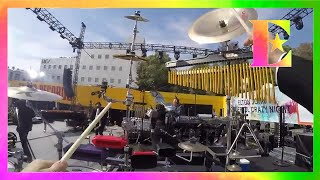 Elton John - The Bitch Is Back - PERCUSSION-CAM! (Live on the Sunset Strip)