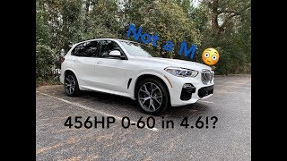 2019 BMW X5 50i POV Drive, Twin Turbo V8 Cold Start and Revs!
