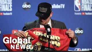 NBA Finals: Nick Nurse says Toronto Raptors 'fought hard' for championship