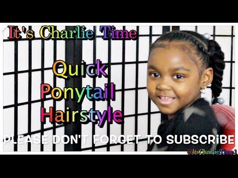 {Quick} Natural Kid Ponytail Hairstyle thumbnail