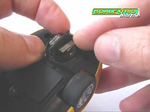 Scalextric Braid Plate change