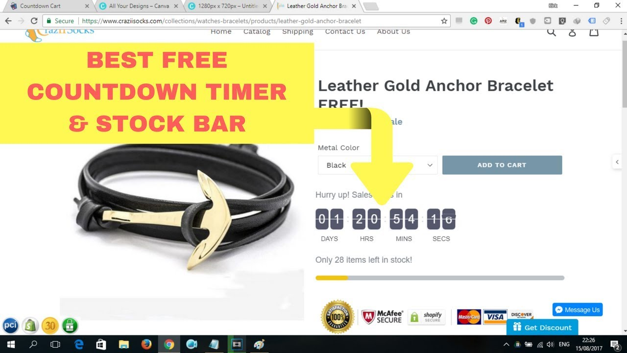 The BEST Free Countdown Timer & Social Proof App for Shopify | Install &  Setup 🛠