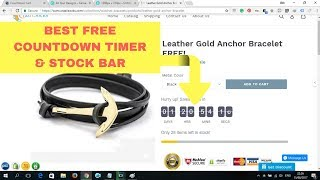 The BEST Free Countdown Timer & Social Proof App for Shopify   Install & Setup 🛠
