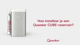 Een Quooker CUBE installeren