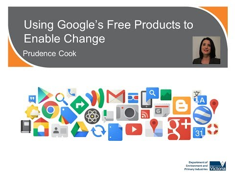 Using Google's free products to enable change
