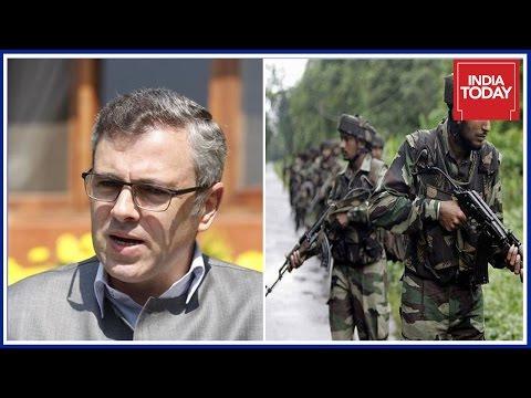 Omar Abdullah Slams State & Centre Govt For Recent Terror Attacks In J&K