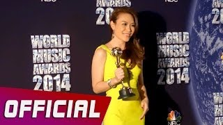 Mỹ Tâm - Best Selling Artist At World Music Awards 2014