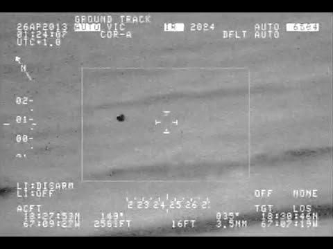 BEST UFO THAT GOVT. CAMERAS HAVE EVER CAUGHT ON VIDEO