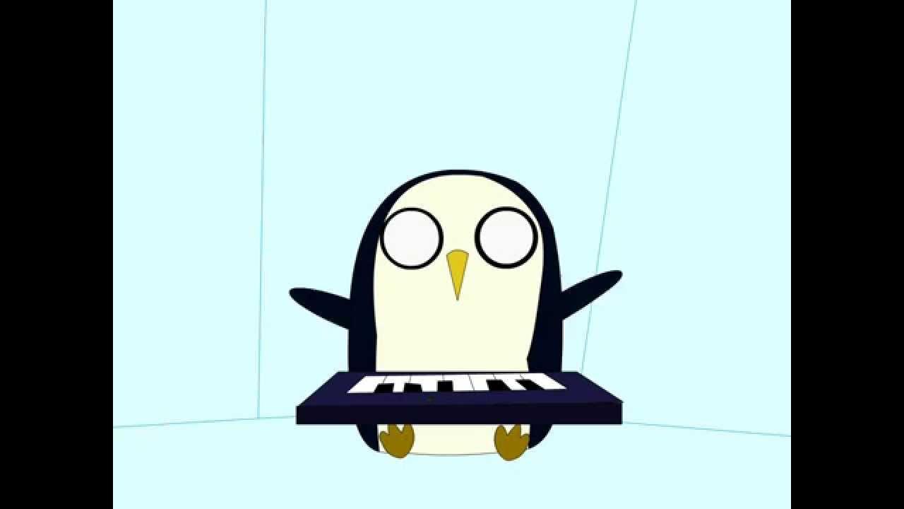 Gunter Adventure Time Keyboard