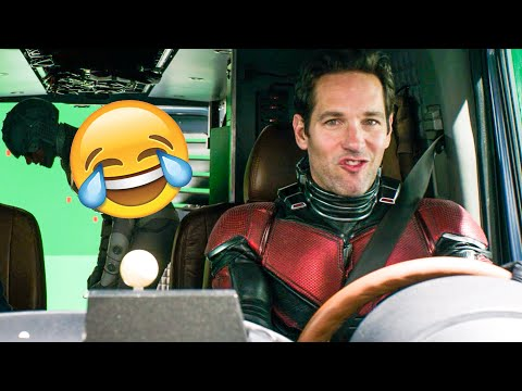 ANT-MAN AND THE WASP Funny Outtakes, Bloopers, Bonus Clips + Deleted Scenes (2018)