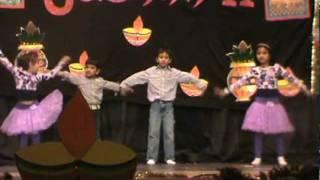 Aayushi,Aditya,Arnav & Nikku Performing @ TCS Diwali 2011