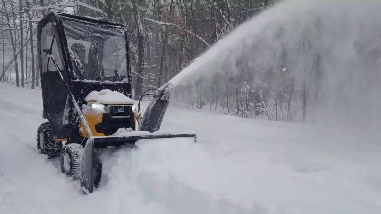 Cubcadet Xt1 Lt50 With 3x Snowblower Attatchment