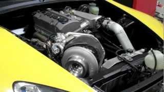 2001 honda s2000 evans tuning custom turbo kit 527whp 400tq aem ems dyno video