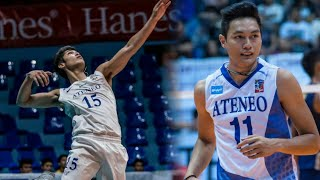 Top 10 Powerful Attacks by Ateneo Men's Volleyball Team | Blue Eagles