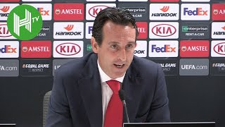 Unai Emery: Arsenal must excite fans to improve Europa League attendances - Arsenal 4-2 Vorskla