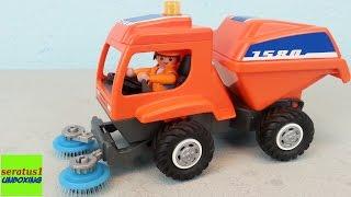 Playmobil Kehrmaschine 6509 auspacken seratus1 unboxing