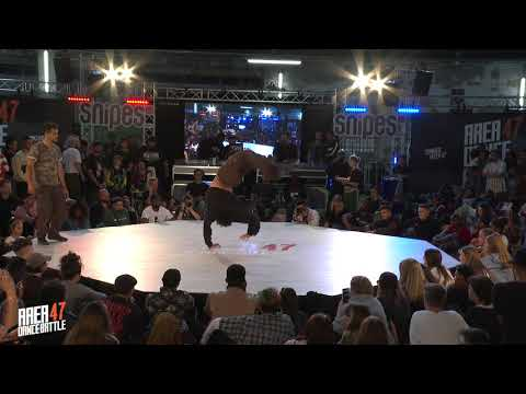 AREA 47 Dance Battle 2019 I BREAKING SEMIFINAL 2 / THE WOLFER VS SHIN SHAN