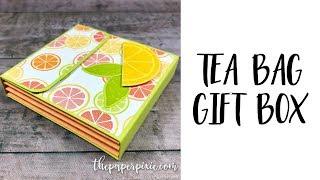 Tea Bag Gift Box