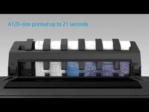 Designjet Showcase: HP DesignJet T930 Product video