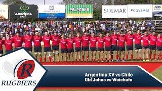 Rugbiers TV - Argentina XV vs Chile