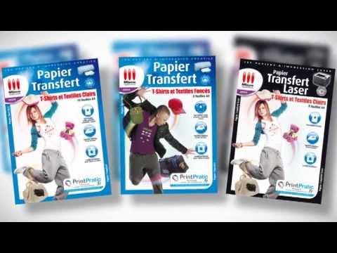 papier transfert textiles micro application youtube. Black Bedroom Furniture Sets. Home Design Ideas