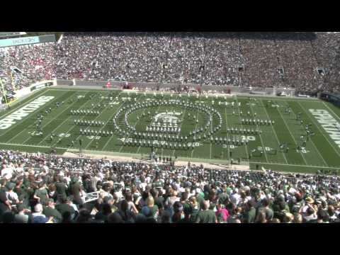 2013 Spartan Marching Band - Indiana Halftime - 10/12/2013 - Super Heroes Show