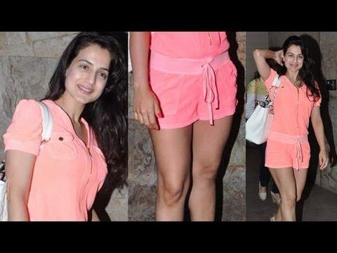 Amisha Patel Juicy Thighs BABY PINK SHORTS thumbnail