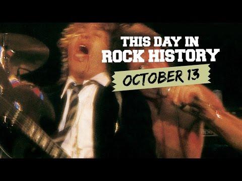 AC/DC Go Live, Beatlemania Begins - October 13 in Rock History